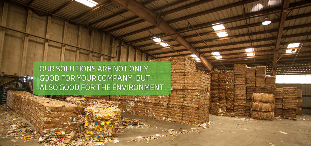 Commercial recycling services, good for your company and the environment